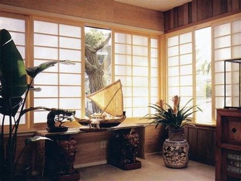 Bali Wood Blinds Asian Window Coverings Asian Style Window Treatments