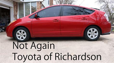 toyota of richardson parts how toyota of richardson treats its customers part 2
