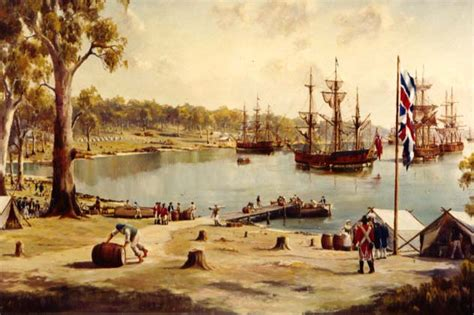 sydney cove 1788 first fleet tent 14 18 century