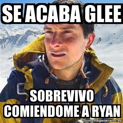 Bear Grylls Meme Generator - meme bear grylls se acaba glee sobrevivo comiendome a
