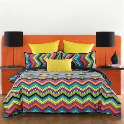 Quilt Cover Chevron Quilt Cover Set By