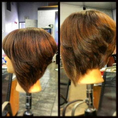 how to get an edgy stacked bob short stacked bob with layers beginner licenced