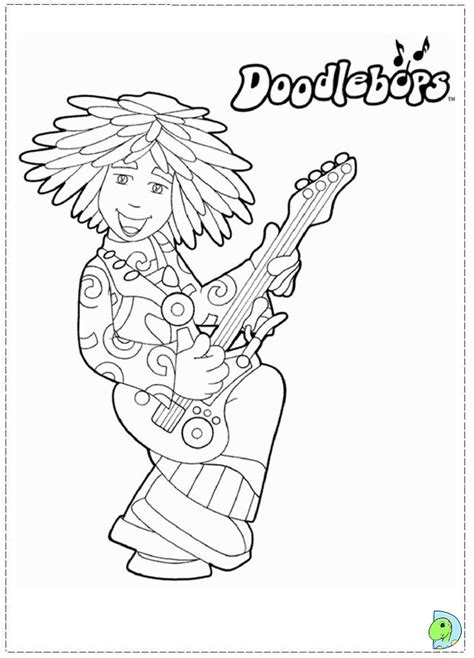 Doodlebops Coloring Pages Az Coloring Pages Doodlebops Coloring Pages