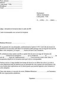 Demande De Formation Lettre Mod 232 Le De Lettre Demande De Formation Dif 224 Adresser 224 Un