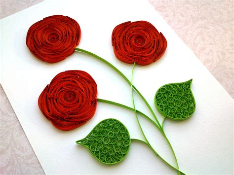 How To Make Quilling Paper - quilling flowers www pixshark images