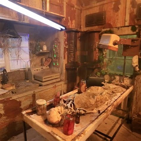 tiny house lab tiny house haunted house mad scientist lab