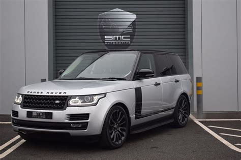dark silver range rover used 2015 land rover range rover 4 4 sdv8 autobiography