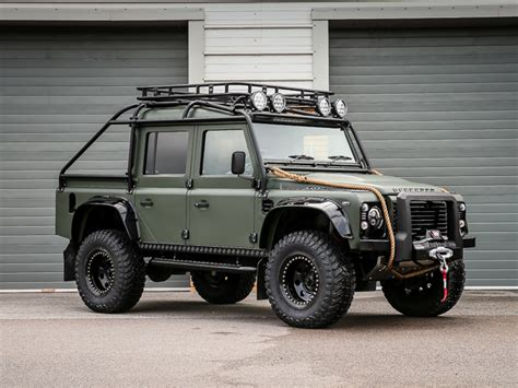 land rover truck james bond defender thor spectre styled 110 xs double cab pick up