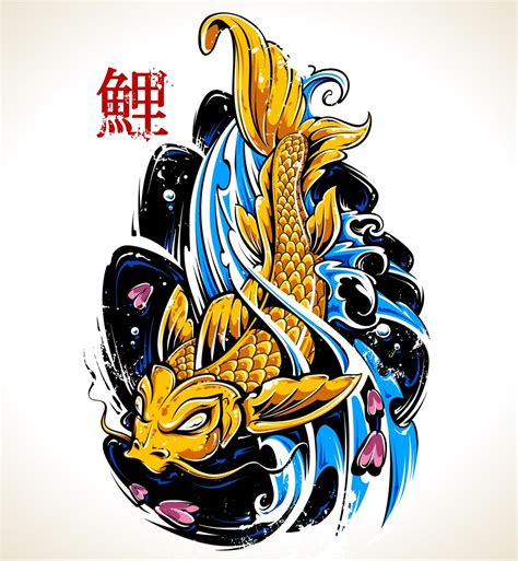 koi dragon tattoo