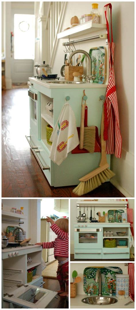 play kitchen from old furniture 17 best images about little one s play kitchen on pinterest