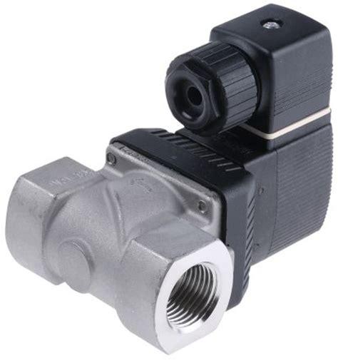 burkert solenoid valve 6213 size 1 14 230 vac 141218 burkert solenoid valve 141218 2 port nc 230 v
