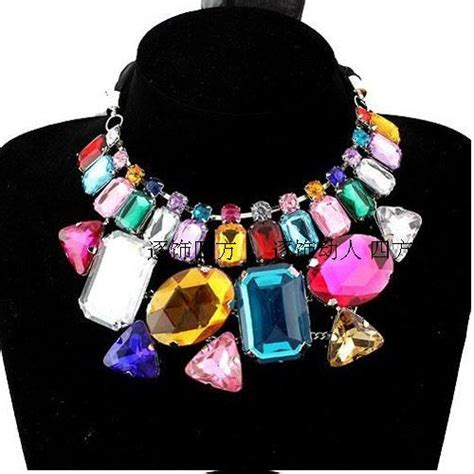 how to make fashion jewelry 2013 new fashion necklace design big gem