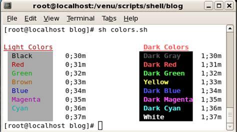 bash echo color bash colors colorizing shell scripts