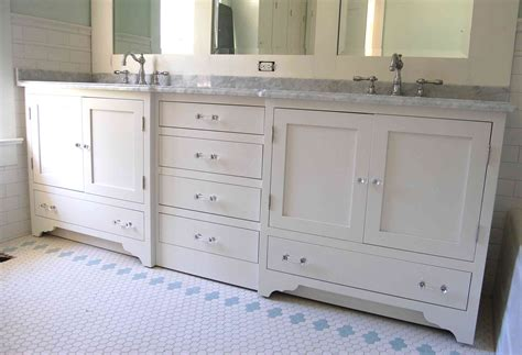 cottage style bathroom vanity haus custom