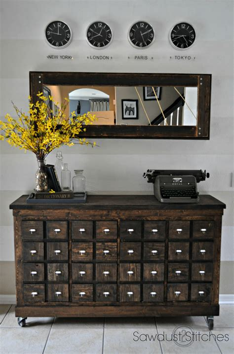apothecary drawers ikea ikea cubbies into a rustic apothecary ikea cubbies