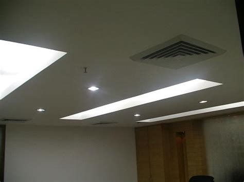 Office Ceiling Light Fixtures False Ceiling Designs For Office