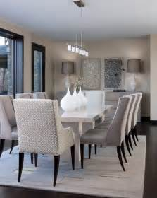 Contemporary Dining Room Sets Orchard Lake Residence Contemporary Dining Room Detroit By Cbell Interior Design