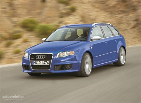 Audi Rs4 2008 by Audi Rs4 Avant 2006 2007 2008 Autoevolution