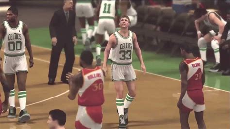 Mba 2k13 Larry Bird Rating by Nba 2k12 Greatest Players Mode Larry Bird