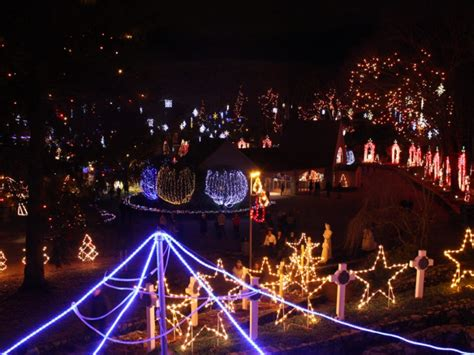 la salette it s about more than christmas lights