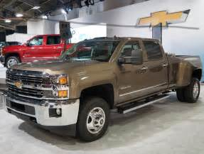 2015 chevrolet silverado 3500hd information and photos