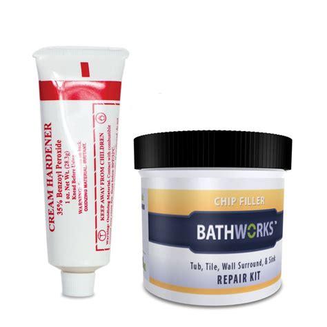 Bathworks Diy Bathtub Refinishing Kit Reviews by Shop Bathworks White Tub And Tile Repair At Lowes
