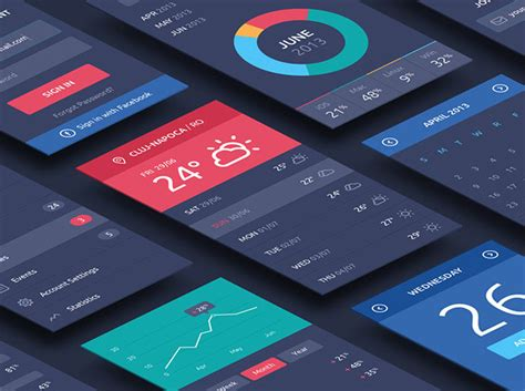 20 Free Psds To Mockup Your App Interface Designs App Mockup Template