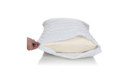 bed bug pillow protectors bed bug dust mite pillow protector groupon