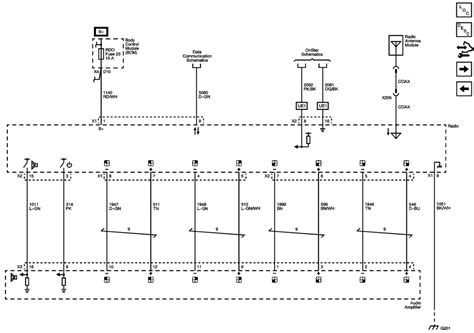 2007 chevy uplander stereo wiring diagram wiring diagram