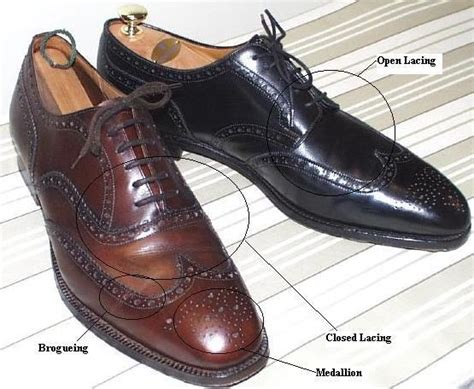 open and closed laced men s dress shoes