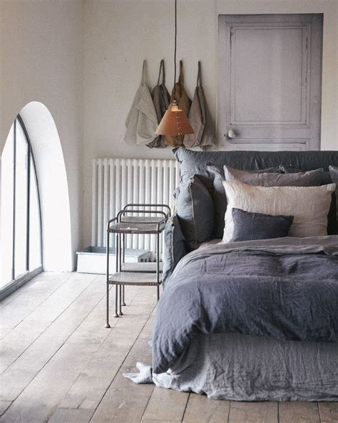 tied to headboard linen bedding want want want i love the idea that a that