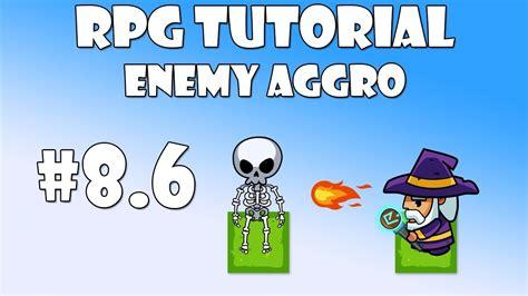 unity tutorial enemy 8 6 unity rpg tutorial enemy aggro youtube