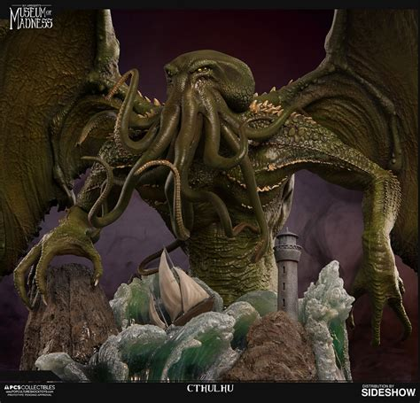 h p lovecraft figure cthulhu statue
