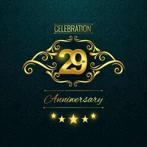 Wedding Anniversary Wishes Vector Free by 29th Anniversary Logo Vector Free
