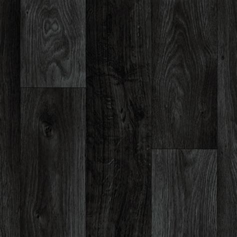 details about black dark grey wood plank vinyl flooring
