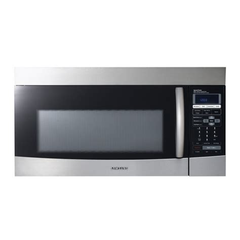 over the range fan microwave convection oven by over the range fan