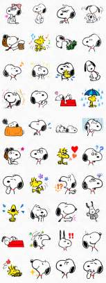 snoopy peanuts movie animated talking pop stickers