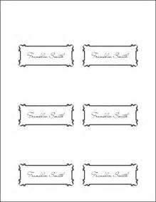 free placecard template place card template vnzgames