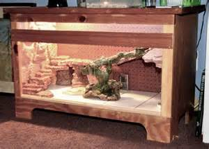 Bearded Cage Decor by Bearded Vivarium Furniture Dyi Projects