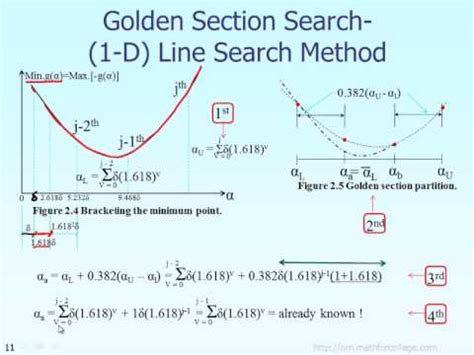 golden section search lecture golden search section method theory part 3 of 6