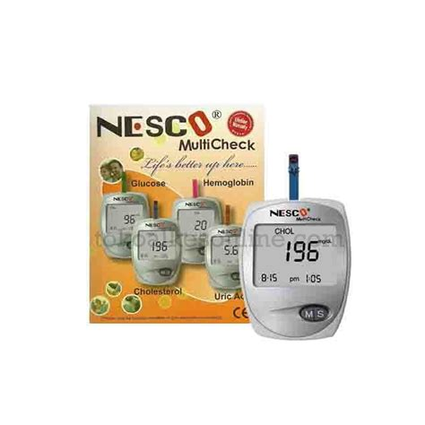 Terbatas Nesco Gcu 3 In 1 nesco multicheck 3 in 1 gcu toko alat kesehatan