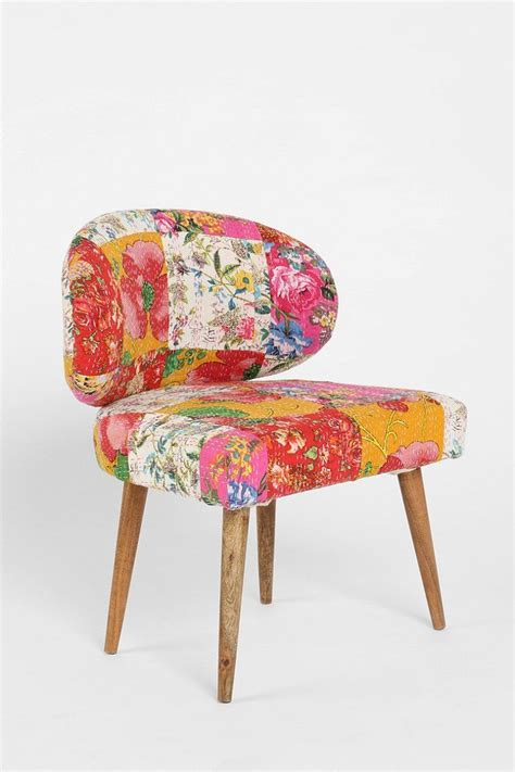 Patchwork Chair - magical thinking modern patchwork chair
