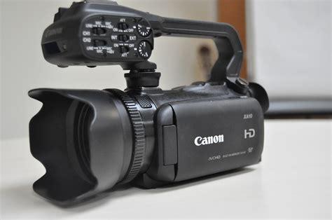 camara de foto y video canon ax10 una c 225 mara de video para profesionales y