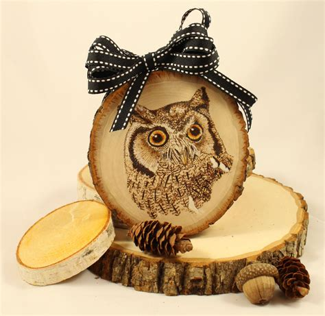 decorative owls owl ornament owl home decor owl art rustic owl gift owl