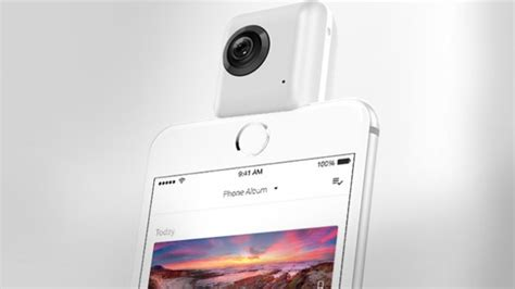 Brica Insta360 Nano Vr For Iphone 66s Brica Insta 36 turn your iphone into a vr with the insta360 nano