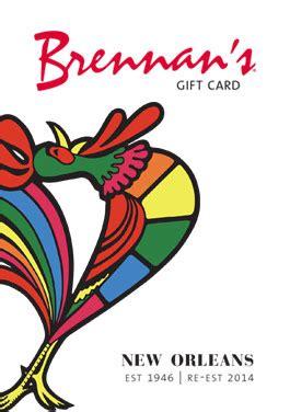 New Orleans Restaurant Gift Cards - bananas foster brennan s restaurant a new orleans tradition since 1946