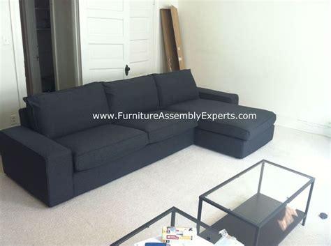 Kivik Sofa Assembly by Kivik Sofa Bed Assembled In Fort Washington Md By