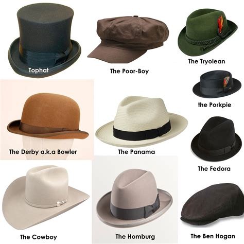 hat styles and vintage