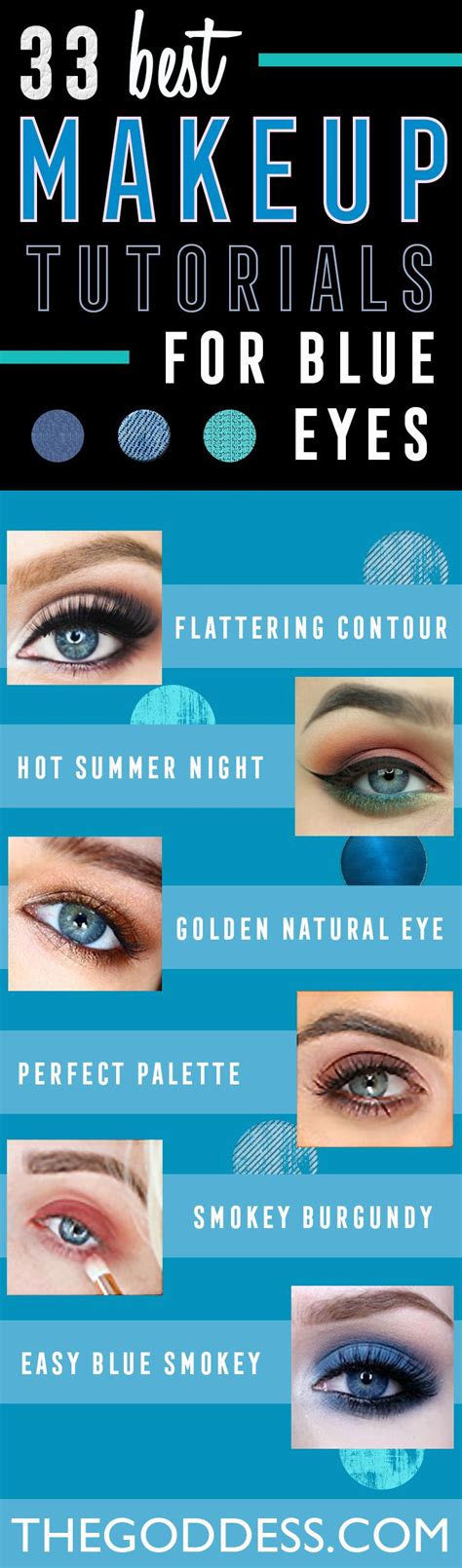step by step natural hair guide makeup tutorials for blue eyes easy step by step