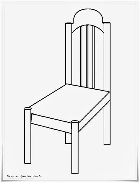 mewarnai gambar kursi mewarnai gambar
